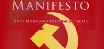 Komünist Manifesto..