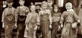 Kapitalizm Çocuk İşçileri Ezerek Yükseliyor !