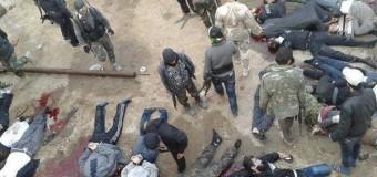 EL-AKP Çetesinin Suriye Kolu Olan El-Nusra Halep'de Büyük Katliam Yaptı