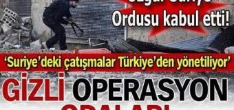 'Suriye'deki çatışmalar Türkiye'den yönetiliyor'