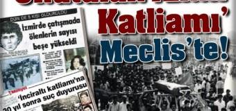 12 Haziran 1980 İzmir İnciraltı Katliamı