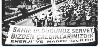 Türkiye'de Son Bir Yılın İşçi Direnişleri