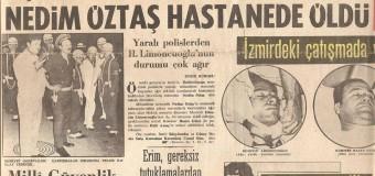 THKO Savascisi İBRAHİM ÖZTAŞ-21 Mayis 1971