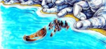 Hiçbir Ülkenin Kabul Etmediği Göçmenler Denizin Ortasında Açlıktan Öldü..
