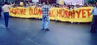 TDKP´nin Sivas Katliamı Protesto Yürüyüşü
